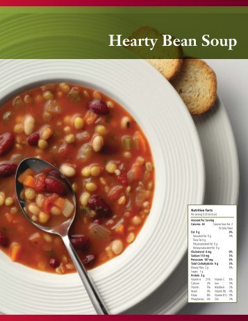 Hearty Bean Soup - Pulse Canada
