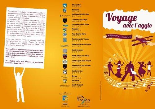 Programme - 2013 - La Chapelle St-Luc