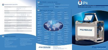 Generatore portatile per la saldatura orbitale - Polysoude