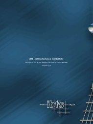 Clique aqui para fazer o download do manual - IBTS
