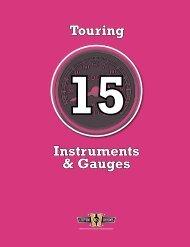 Instruments & Gauges Touring - Custom Chrome