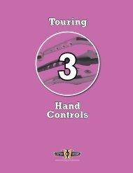 Touring Hand Controls - Custom Chrome