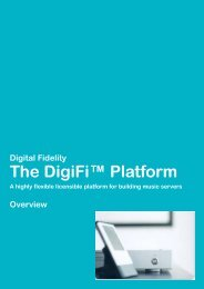 The DigiFi Platform - Digital Fidelity