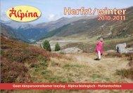 Geen éénpersoonskamer toeslag -  Alpina biologisch - Huttentochten