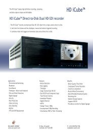 Page 1 HD iCube - Eco-watch