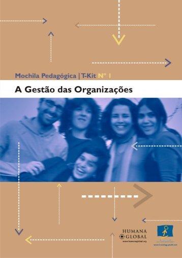 A Gestão das Organizações - Infoeuropa
