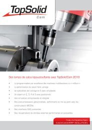 TopSolid'Cam 2010