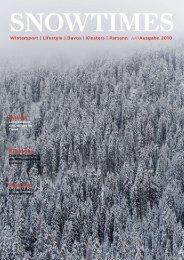 Parsenn Klosters Davos - bei Green Terra