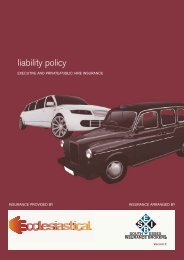 liability policy - SEIB