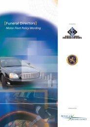 Motor Fleet Policy Wording - SEIB