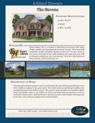 The Stevens Ashland Downes - Lake Carolina