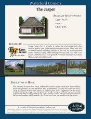 The Jasper Waterford Corners - Lake Carolina