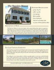 The Bayview Manor - Lake Carolina