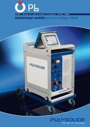 Générateur mobile pour le soudage orbital - Polysoude
