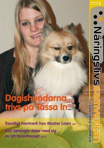 Dagishundarna trivs på Tassa Insid 3 - Vansbro kommun