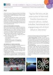 nyhetsbrev från utmaningen - Vansbro kommun