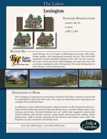Lexington The Lakes - Lake Carolina