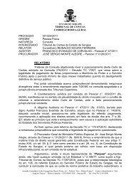 Confira a íntegra do voto do Conselheiro Reinaldo Moura Ferreira