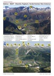 Sedrun - NEAT - Disentis - Luftbilder der Schweiz