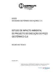 estudo de impacte ambiental do projecto de execução do poço ...