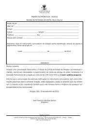 Baixar Edital - TCE-SE - Sergipe