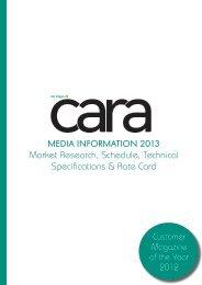 MEDIA INFORMATION 2013 Market Research ... - Image Magazine