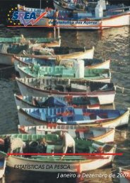 Pesca - Janeiro a Dezembro de 2007