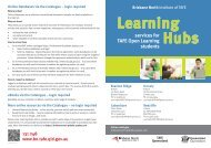 View the Brisbane North Institute of TAFE Learning Hub Services