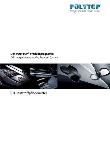 Kunststoffpflegemittel - POLYTOP Autopflege GmbH