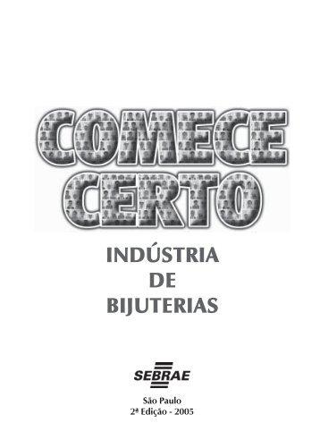 Indústria de Bijuterias - COMPLETO - Sebrae