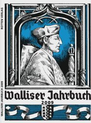 Ausgabe 2009 - Walliser Jahrbuch
