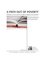 A Path out of Poverty: Helping Low-Income Adults Upgrade Their ...