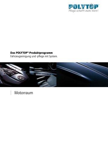 Motorraum - POLYTOP Autopflege GmbH