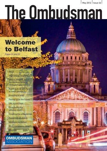 Welcome to Belfast - British and Irish Ombudsman Association