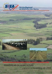 Agricultura Janeiro a Dezembro de 2008 - SREA