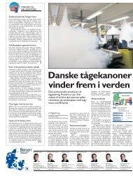 Danske tågekanoner vinder frem i verden - Protect
