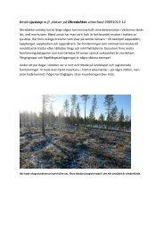 Besök Ljustorp m.fl. platser på Ohredahkes vinterland 20091013-14