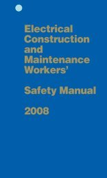 Electrical Construction and Maintenance Workers ... - IBEW Local 353