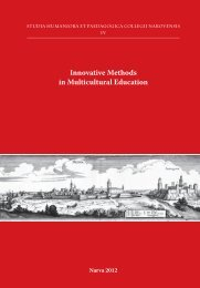 Innovative Methods in Multicultural Education