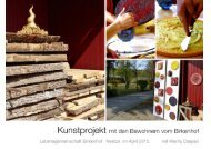Kunstprojekt Birkenhof 2015