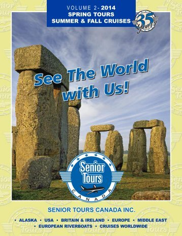 SeniorTours Guts template - Senior Tours Canada
