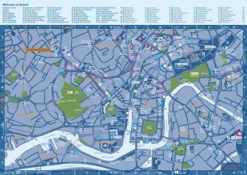 Cardiff City Centre map Visit Cardiff