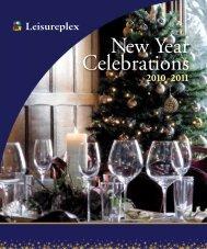 New Year Celebrations - Leisureplex.co.uk