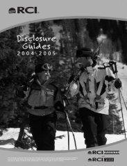 Disclosure Guides - Rci.com