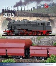 TT-Neuheiten 2015