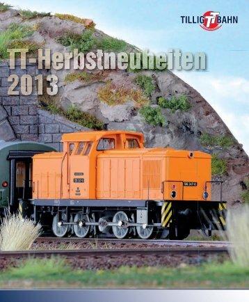 TT-Herbst-Neuheiten 2013