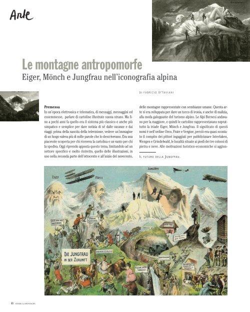 Di Fabrizio Ottaviani: Cartoline. Le montagne antropomorfe - ardia.ch