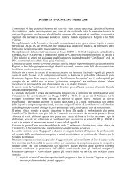 INTERVENTO CONVEGNO 19 aprile 2008 Consentitemi di ... - Sacert
