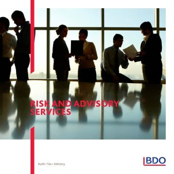 Download our brochure - BDO