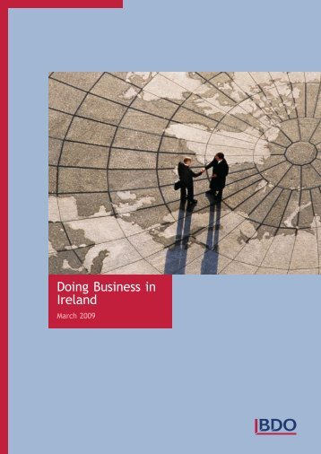 Doing Business in Ireland - BDO